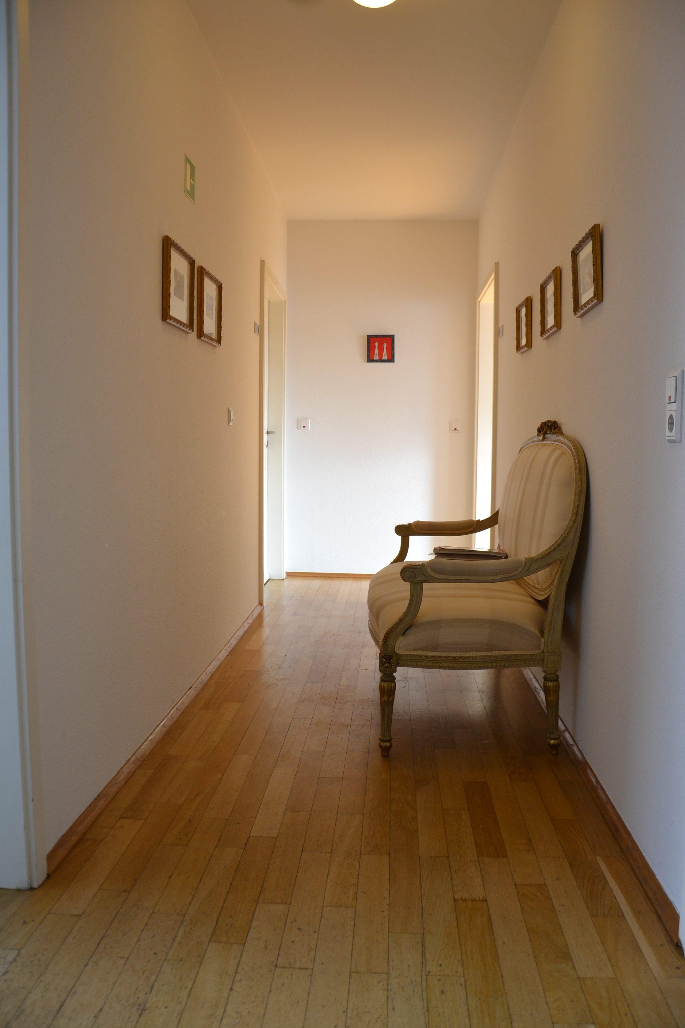 Praxis von Vera Sandoval: Der Eingangsbereich
